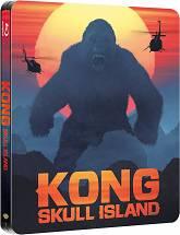 Kong: Wyspa Czaszki - Steelbook [Blu-ray 3D + Blu-ray]