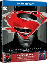 Batman v Superman: Świt Sprawiedliwości ULTIMATE EDITION - Steelbook [2 Blu-ray]