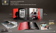 BLACK BARONS #3 HITMAN: Agent 47 FullSlip + Booklet + Comics + Collectible Cards Steelbook™ Limited Collector's Edition - numbered [Blu-ray]