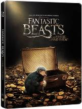 Fantastic Beasts and Where to Find Them - Steelbook [Blu-ray 3D + Blu-ray]