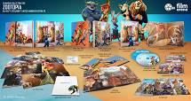 ZOOTOPIA EDITION #2 Lenticular FullSlip 3D + 2D Steelbook™ Limited Collector's Edition - numbered [Blu-ray 3D + Blu-ray]