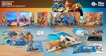 ZOOTOPIA FullSlip + Lenticular Magnet EDITION #1 3D + 2D Steelbook™ Limited Collector's Edition - numbered [Blu-ray 3D + Blu-ray]
