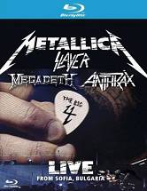Metallica, Slayer, Megadeth, Anthrax - The Big 4 - Live From Sofia, Bulgaria [2 Blu-Ray]