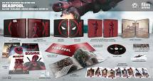 DEADPOOL FullSlip + Lenticular Magnet EDITION 1 Steelbook™ Limited Collector's Edition - numbered [Blu-ray]