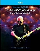 David Gilmour - Remember That Night [2 Blu-ray]