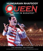 QUEEN Hungarian Rhapsody – Queen Live In Budapest [Blu-ray]