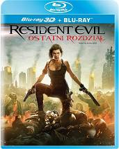 Resident Evil: The Final Chapter 3D [Blu-ray 3D + Blu-ray]