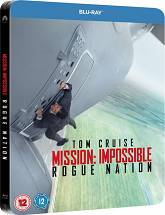 Mission Impossible: Rouge Nation - Steelbook [Blu-ray]