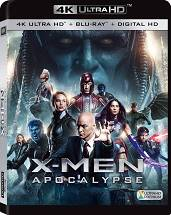 X-Men: Apocalypse [4K UHD + Blu-ray]