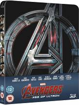 The Avengers: Age of Ultron Steelbook (Blu-ray 3D + Blu-ray)