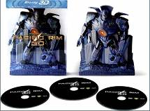Pacific Rim - Limited Edition Robot Pack [Blu-ray 3D + 2 Blu-ray]