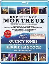 Experience Montreux 3D / Montreux Jazz Festival featuring Herbie Hancock & Quincy Jones and The Global Gumbo All-Stars [2 Blu-ray]