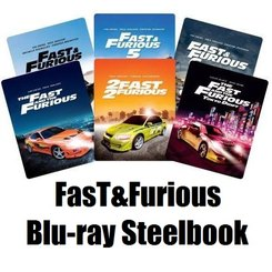 Fast and Furious steelbook